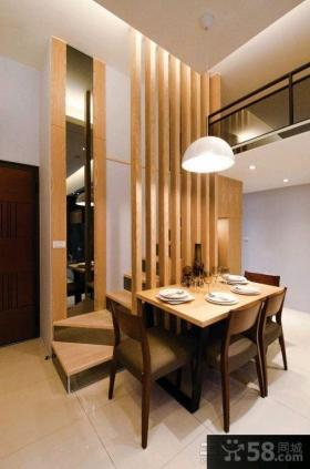 日式风格110平米三室两厅装修效果图欣赏