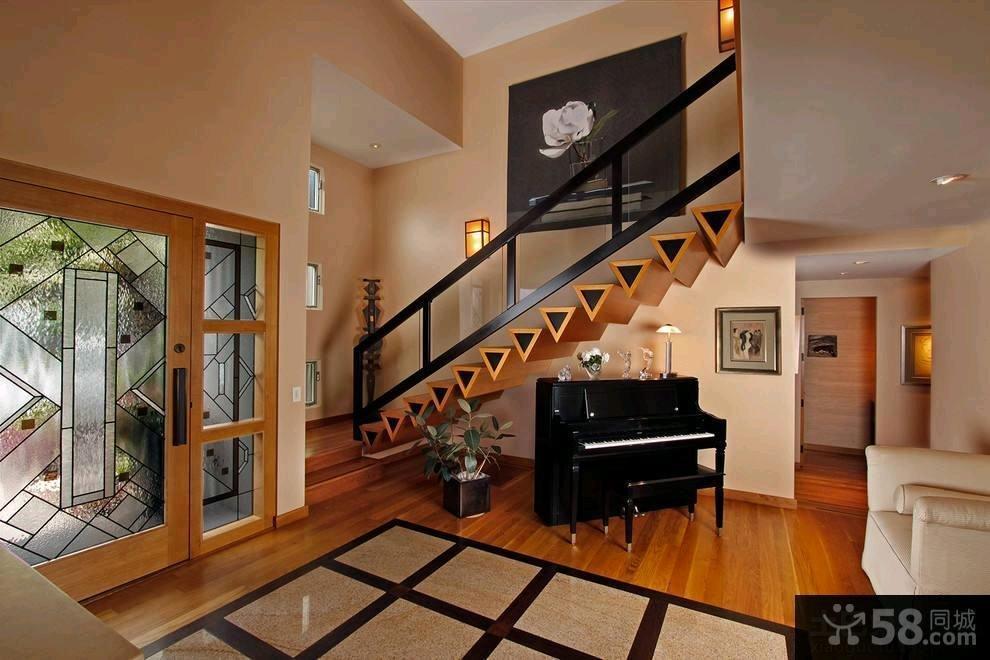 极简主义设计楼梯效果图