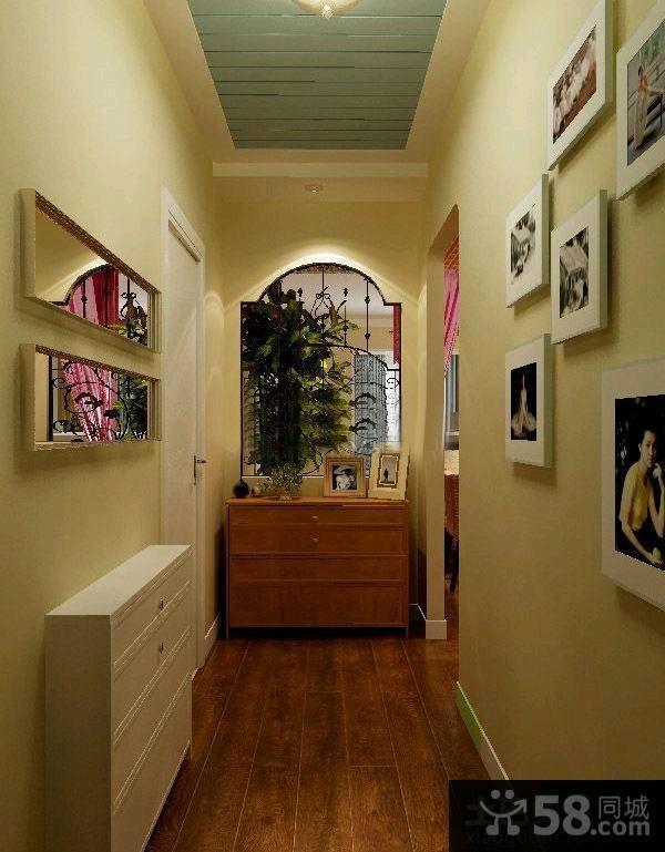 室内设计过道相片墙图片