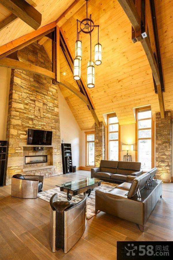 家庭装修豪华复式设计图片欣赏大全