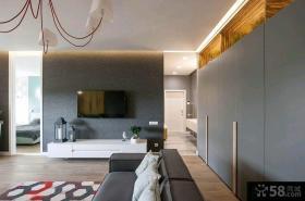 简约室内设计三居室图片欣赏