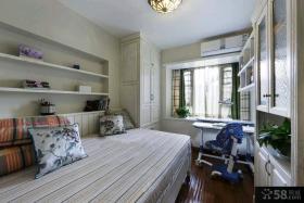 96平米田园风格两室一厅装修图大全2015