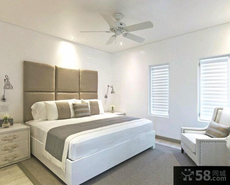 卧室床头吊灯效果图