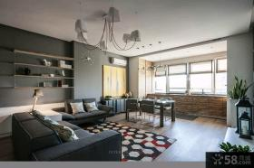 宜家装修设计豪华时尚四室两厅效果图大全欣赏