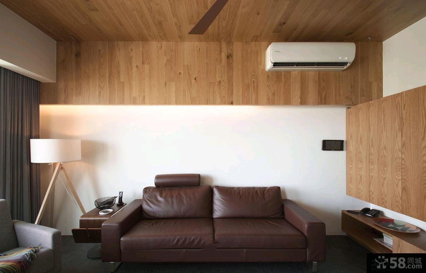 日式田园一居室家庭装修效果图片