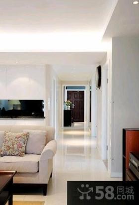 美式家装二居室户型装修效果图片大全