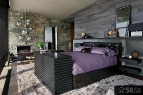 复古装修设计四居室效果图大全欣赏