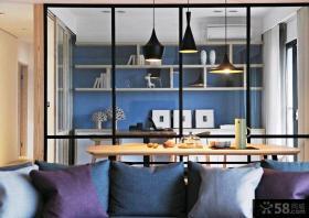 现代宜家风格单身公寓装修效果图