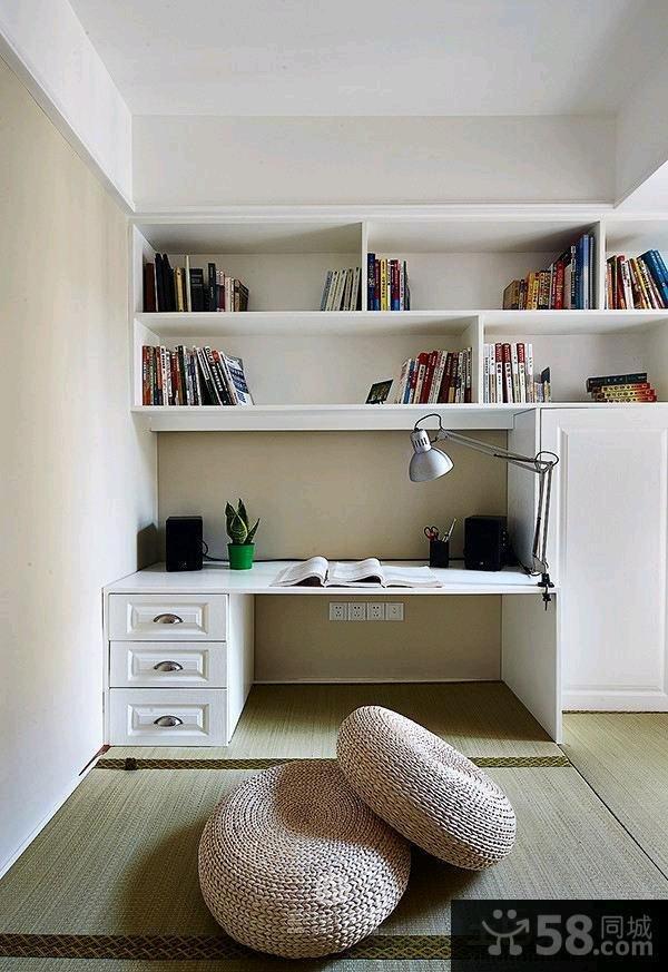 124平米简欧风格二居装修效果图