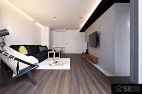 60平米现代简约风格一居室装修效果图
