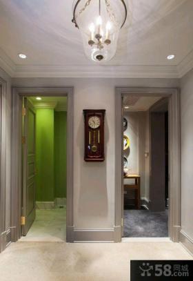 现代欧式风格别墅精装设计效果图
