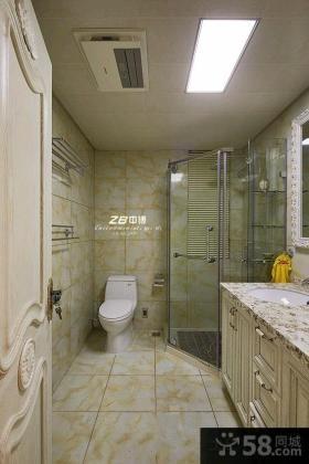 112平米欧式风格两室一厅户型家装效果图片