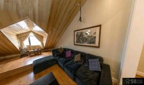 欧式小复式楼房屋精装修样板间效果图大全
