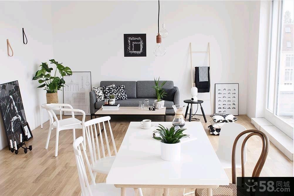极简主义风格二居室装修效果图大全