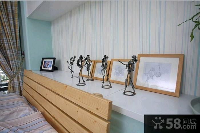 北欧装修卧室飘窗图片