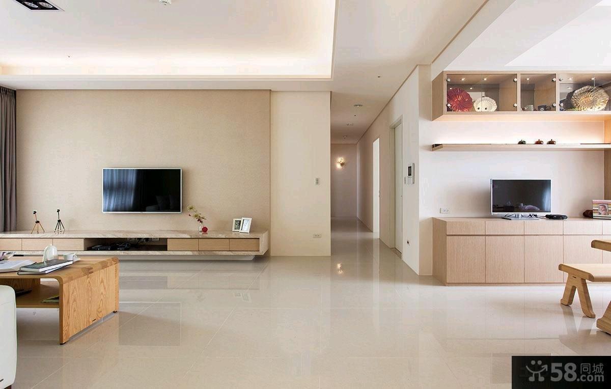 简约家居风格二居室内装修效果图片大全
