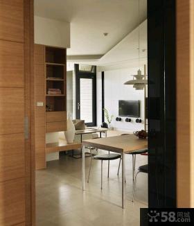 简约风格两室一厅装修效果图片2015