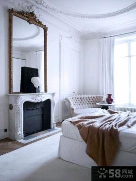 简欧家居风格三居室家庭室内装修图片