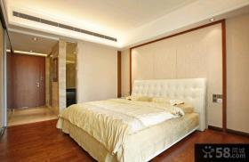 现代欧式风格125平米三居室样板间设计
