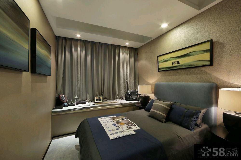 70平米中式一居户型装修样板间效果图