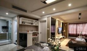 美式家装小户型客厅图2015
