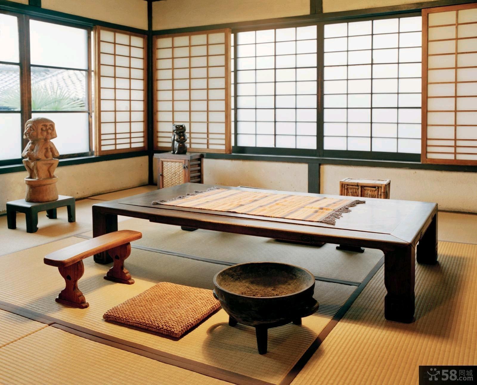 日式客厅榻榻米设计效果图