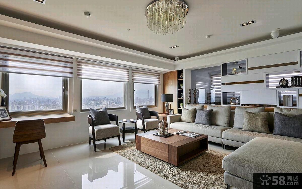 90平米宜家风格高级公寓装修效果图