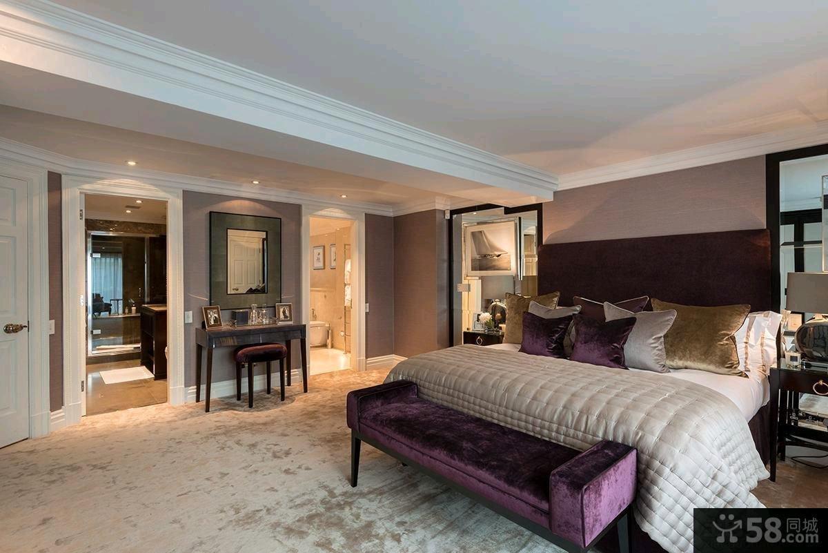 简欧风格130平米设计三室两厅装修效果图