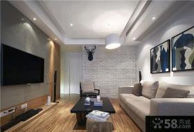 75平宜家风格一居室装修效果图
