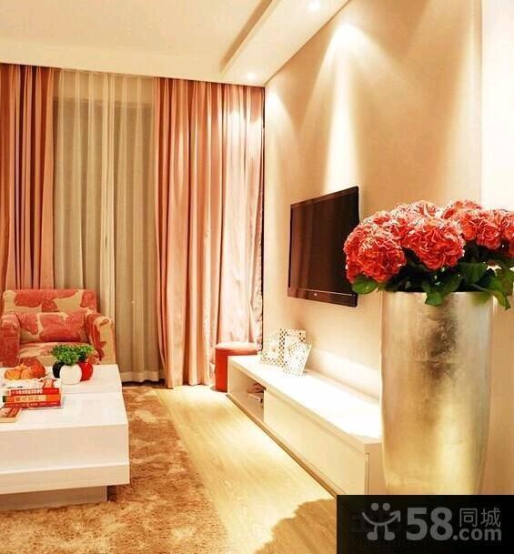 现代装修设计客厅电视背景墙效果图大全欣赏