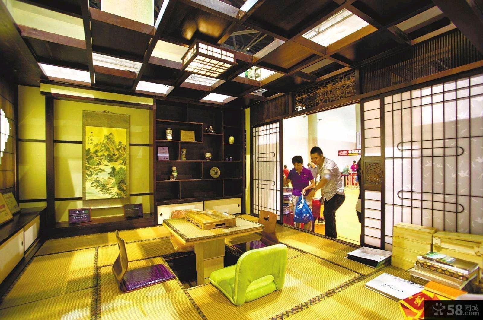 日式客厅榻榻米装修图片大全欣赏