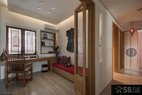 100平米中式两室两厅装修效果图片欣赏