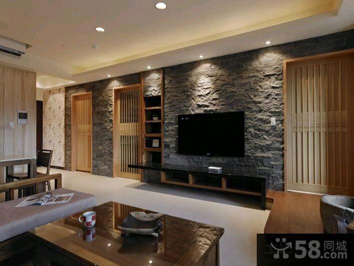 美式设计客厅电视背景墙图片大全