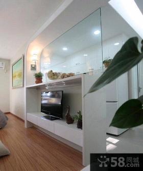 66平米现代一室一厅装修效果图大全2015图片