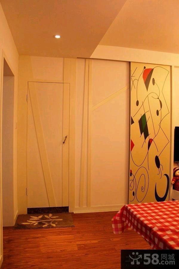 简约室内装修隐形门效果图大全