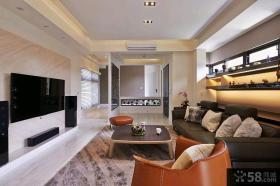 现代风格两室一厅家庭餐厅装修效果图大全2015图片