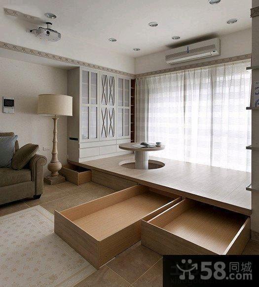 家装设计室内榻榻米图片欣赏