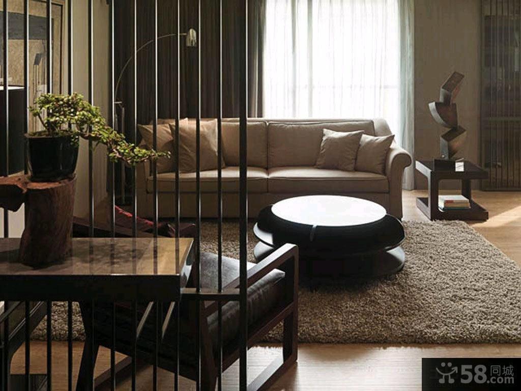 家装豪华时尚屏风隔断图片欣赏