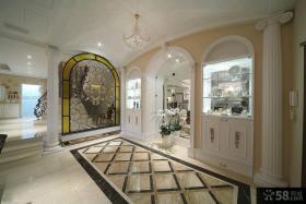 新古典装修进门玄关图片