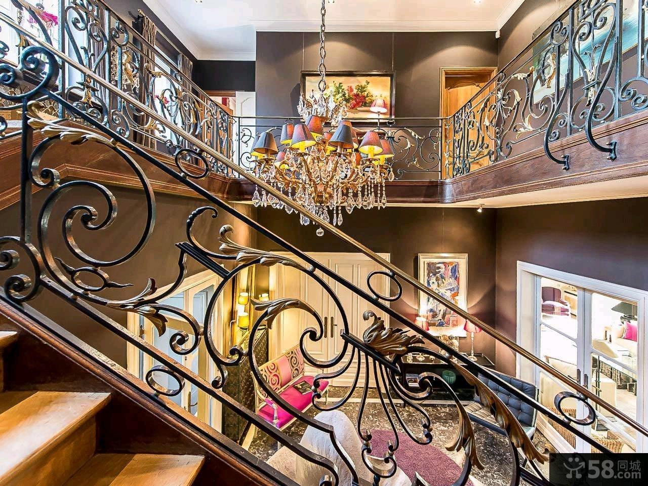 欧式风格豪华别墅装修效果图大全欣赏