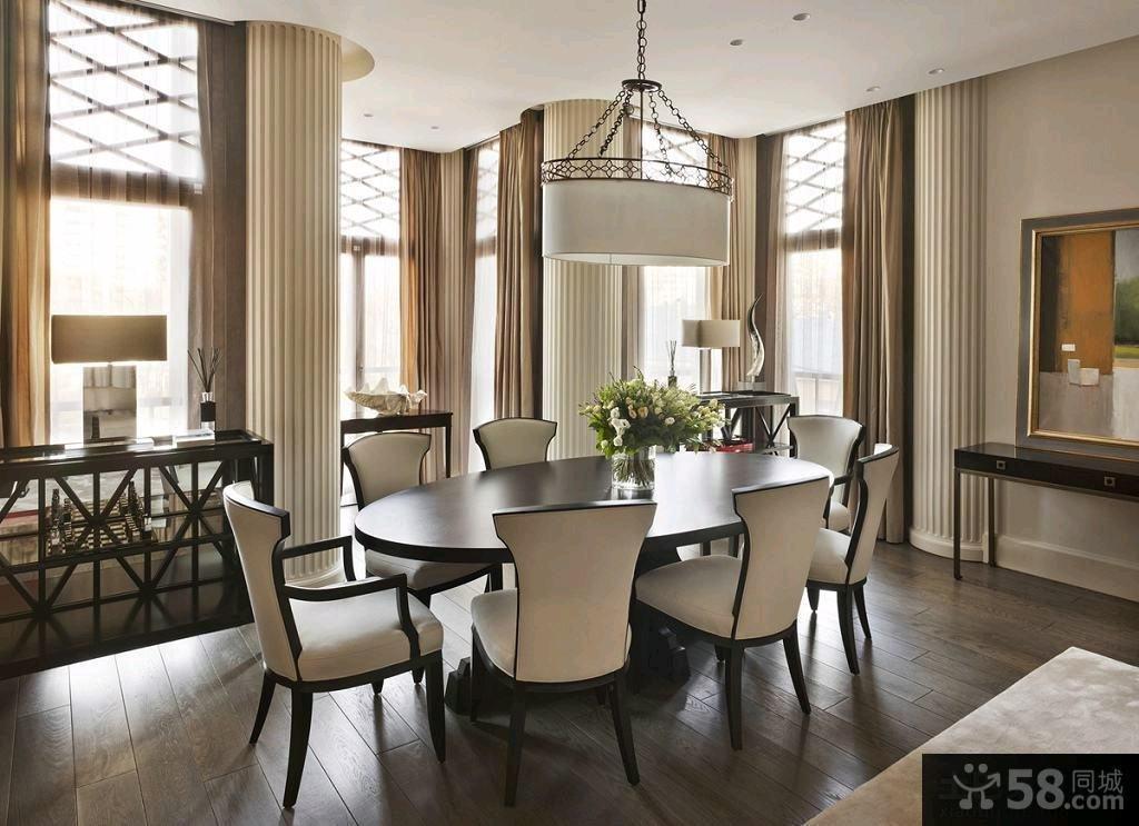现代新古典风格豪华四居室图片大全