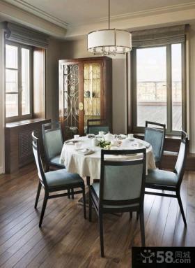 简欧新古典风格三室两厅装修效果图欣赏