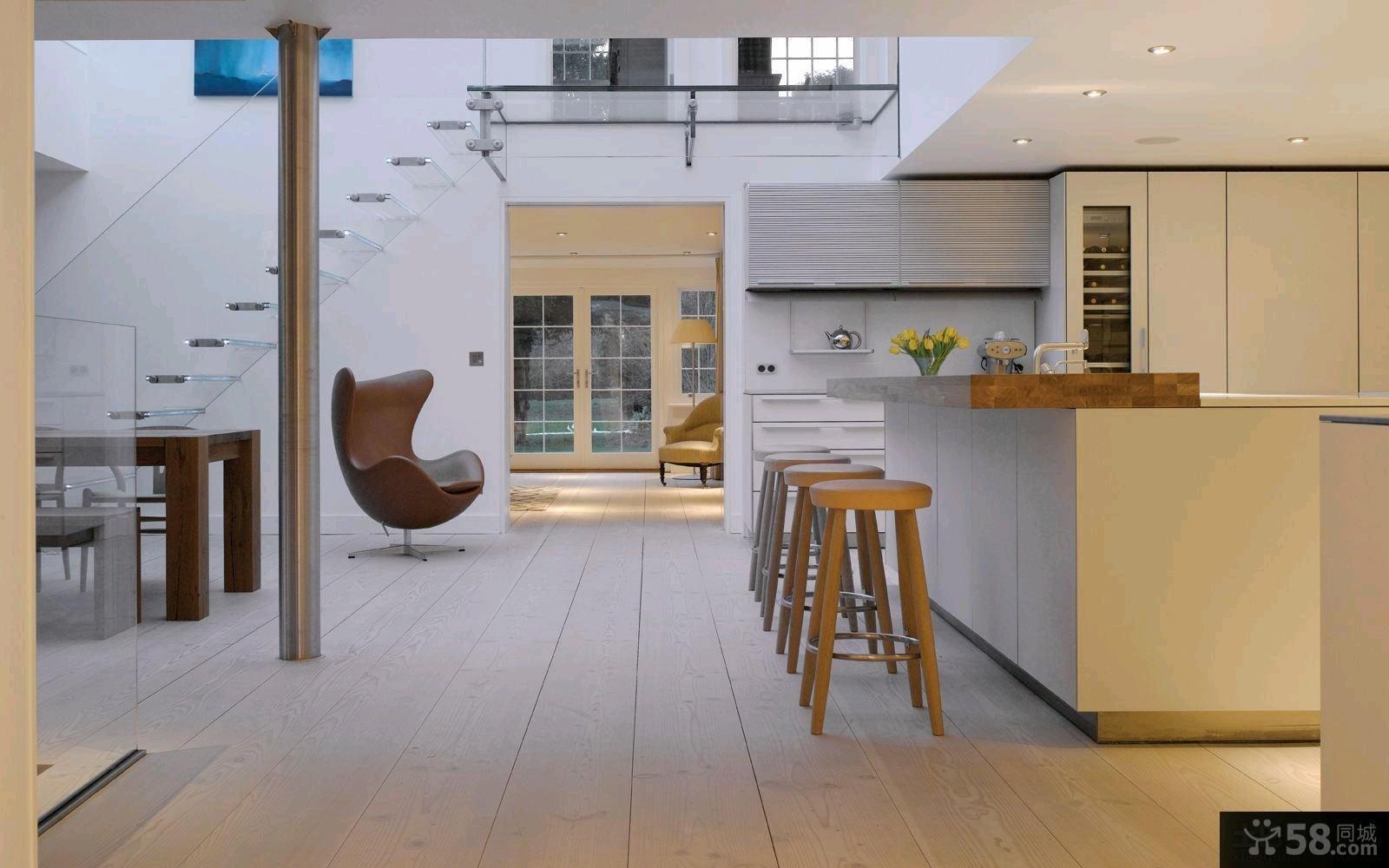 现代风格装修设计豪华别墅效果图大全