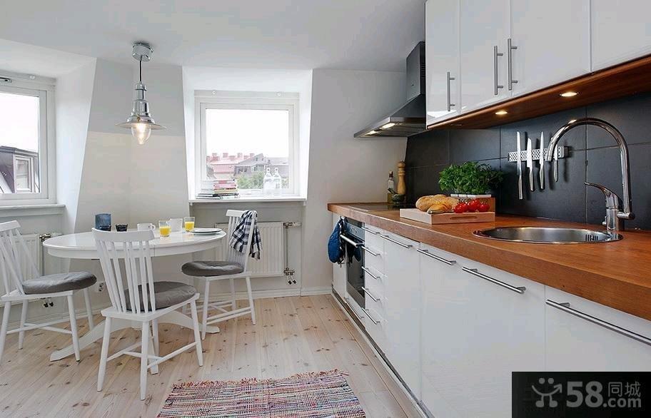 42平米北欧风格单身公寓装修效果图