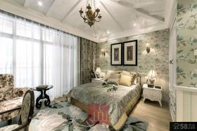 欧式风格四室两厅豪华卧室设计效果图