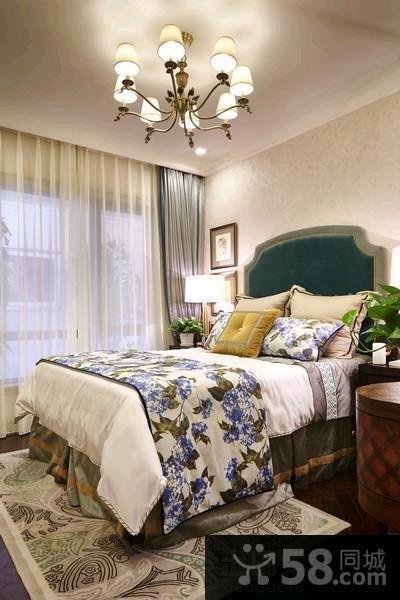 美式风格家庭装修三居室图片欣赏