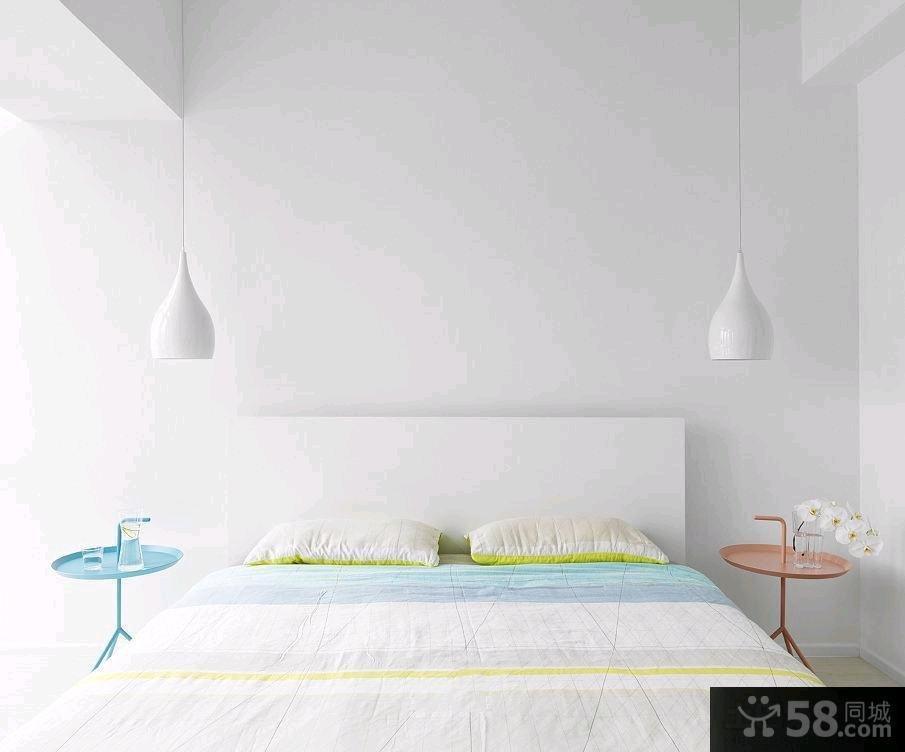 极简北欧风格一居室住房装修效果图2014
