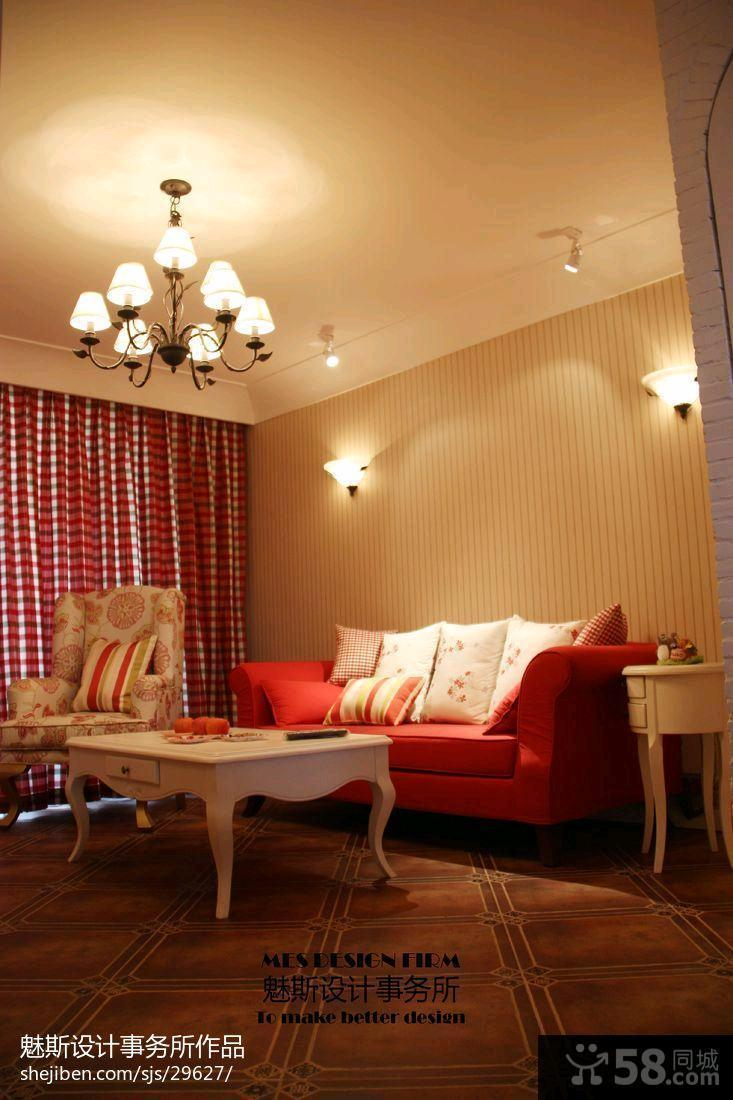 欧式客厅电视背景墙壁纸效果图