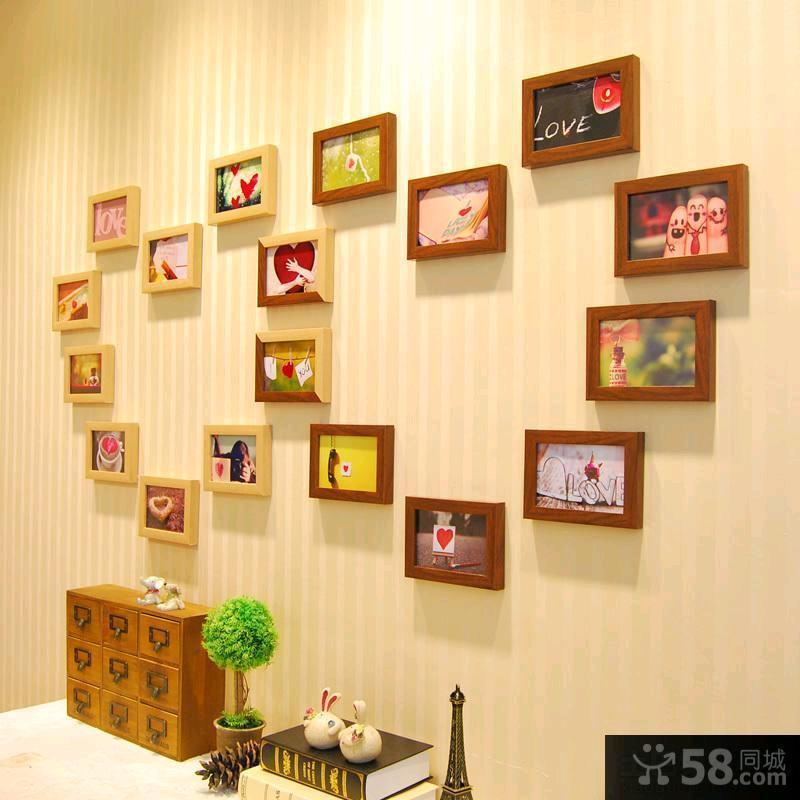 宜家客厅照片墙设计效果图