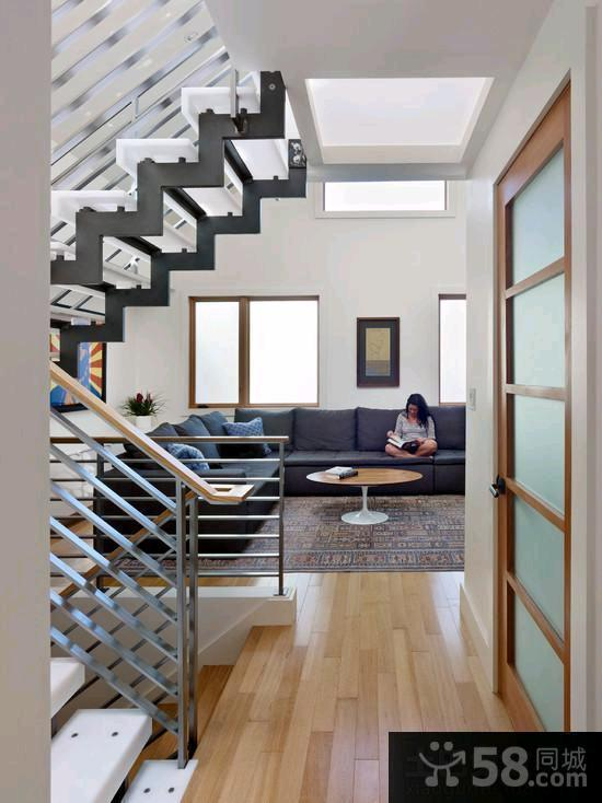 现代别墅钢结构楼梯图集欣赏